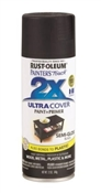 2X Painter's Touch Spray Paint Semi Gloss Black