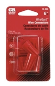6 Pack Red Wire Connector
