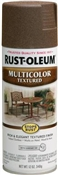 Multi Color Textures Spray Paint Autumn Brown