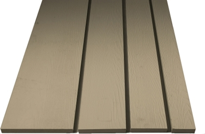"1"" X 6"" X 12' Plycem Reversible Fiber Cement Trim"