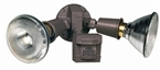 Motion Sensing Flood Light, Bronze