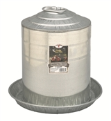 Galvanized Double Wall Poultry Fountain