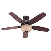 "52"" Builder Deluxe Ceiling Fan - Bronze"