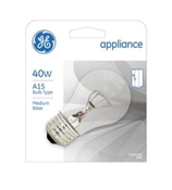 40-Watt Clear Appliance Light Bulb, 435 Lumens