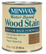 Wood Stain Water Based Satin Clear 1 Quart