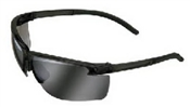 Flexible Temple Safety Glasses Silver Mirror
