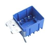 2 Gang Non-Metallic Adjustable Work Box 24CU