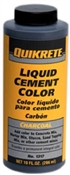 Cement Color Charcoal Liquid 10  Ounce