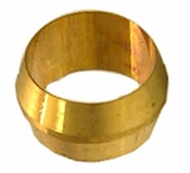 "2 Pc 1/8"" Brass Compression Sleeve"