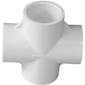 "3/4"" Cross Schedule 40 PVC"