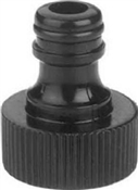 Gilmour Green Thumb 39QCMGT Hose Quick Connector Male, Solid Brass