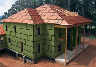 5 8 X4 X8 Zip System Roof Sheathing Osb