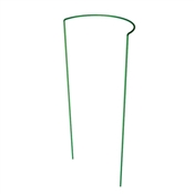 """84107GT Green Thumb, 15""""W x 30""""H, Green, Half Round Plant Support"""