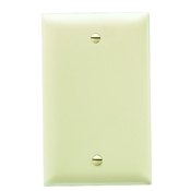 Ivory Nylon 1 Gang Blank Center Plate