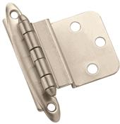 Amerock BPR3417G10 Cabinet Hinge, Steel, Satin Nickel