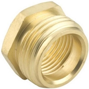 "3/4""'x1/2"" Brass Hose Connector"