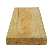 """2x6-12' (Actual: 1-1/2""""x5-1/2"""") Above Ground Contact Treated Pro Deck Product Of #1"""