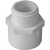 "1"" Male Adapter Schedule 40 PVC"