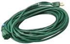 16/3 Outdoor Green Extension Cord 40'