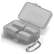 Foam Ear Plugs 2 Pair With Case