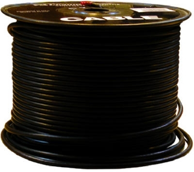 RG6 500' Black Coaxial Cable 75 Ohm