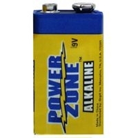9V Alkaline Batteries 2 pack