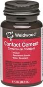 Weldwood 00107 Contact Cement, 3 Oz, Bottle, Tan, Liquid