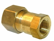 "3/8"" Compression x 1/4"" Female Pipe Thread Adapter"