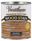 Varathane Fast Dry Golden Mahogany Wood Stain Qt