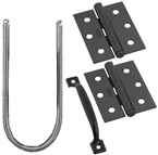 Screen/Storm Door Kit, Black