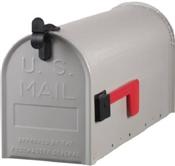 Rural Mailbox Grey