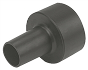 Conversion Unit, For Use with 2-1/2 - 1-1/4 in Hose, Black