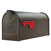 BROWN/BRONZE RURAL MAILBOX