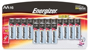 AA Alkaline Batteries 16 Pack