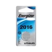 Energizer ECR2016BP Coin Cell Battery, CR2016 Battery, Lithium, Manganese Dioxide, 3 V Battery