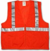 Class 2 High Visibility Vest Orange Small/Medium