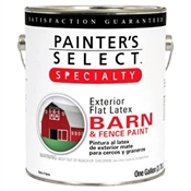 Barn & Fence Latex Paint Flat Red, 1 Gallon