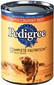 Pedigree Chunky Beef Dog Food