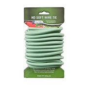 T005GT Green Thumb, 16', Heavy Duty, Soft Coated Wire Tie