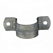 B & K G13-100HC Pipe Strap, 1 in Opening, Galvanized Steel