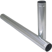 "7""x24"" Galvanized Vent Pipe"