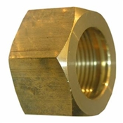 "5/16"" Brass Compression Nut & Sleeve"