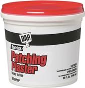 DAP 52084 Patching Plaster, White, 1 qt Tub
