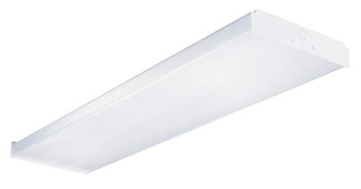 4' T8 2 Lamp Residential Wrap Fixture