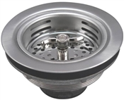 Sink StrainerStainless Steel with Turn 2 Seal Basket