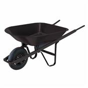 4 Cu-Ft Steel Wheelbarrow