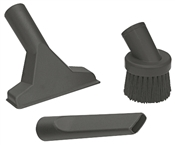 Shop-Vac 9064300 Household Cleaning Kit, Plastic, Black, For 1-1/4 in Hose End