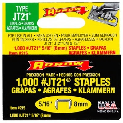 "5/16"" Staples, 1000 Pack"