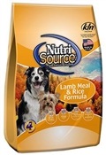 NutriSource 5lb Lamb and Rice Adult Dog Food