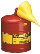 Type 1 Red Safety Can W/ Funnel